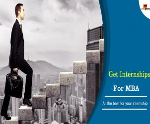 Get an internship after doing your MBA