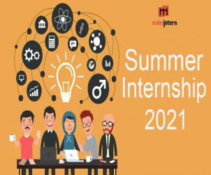 Summer Internship for Students in India